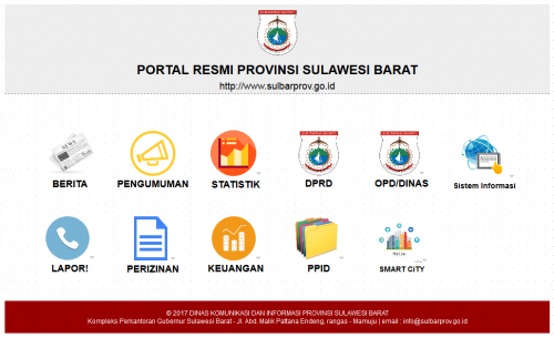 Preview Portal Sulawesi Barat